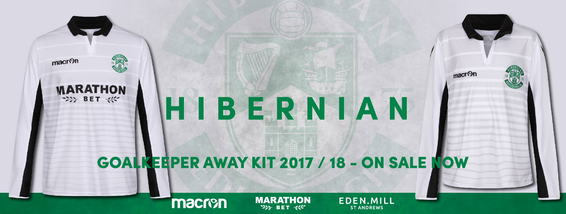Hibernian FC Goalkeeper Kit | ON SALE NOW