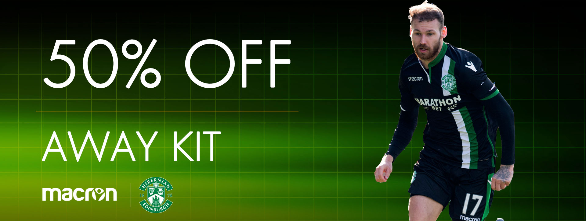 50% OFF AWAY KIT 2017/18