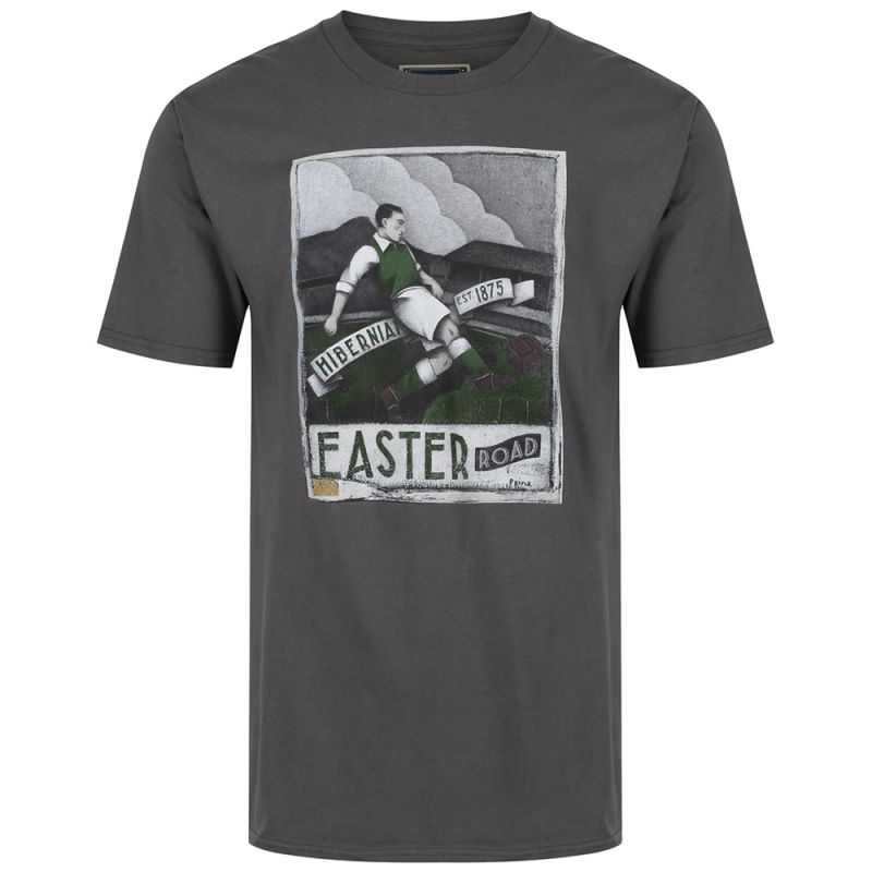 MENS EASTER RD T-SHIRT CHARCOAL