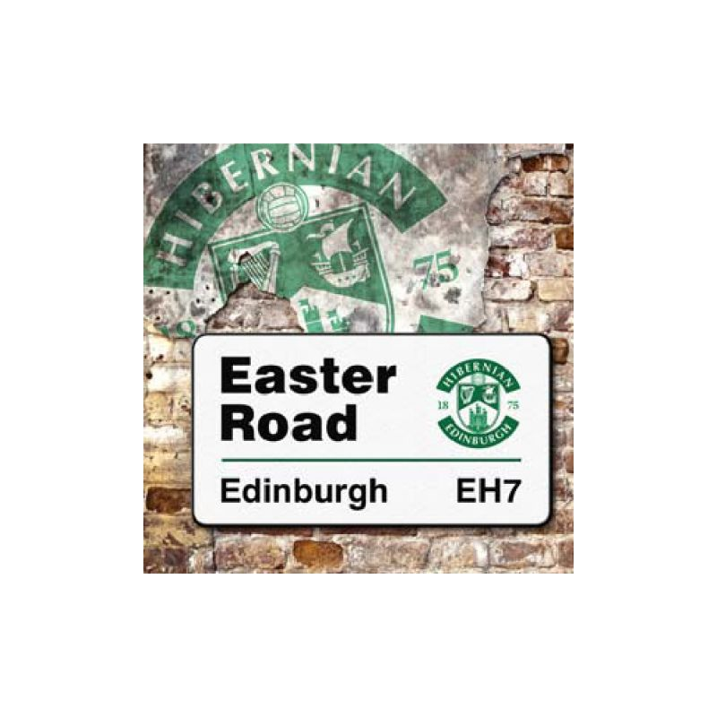 EASTER ROAD SIGN CARD