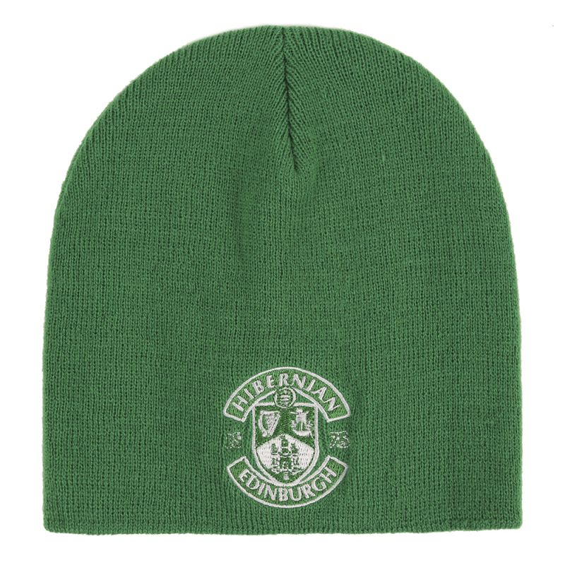 ESSENTIALS BEANIE HAT GRN