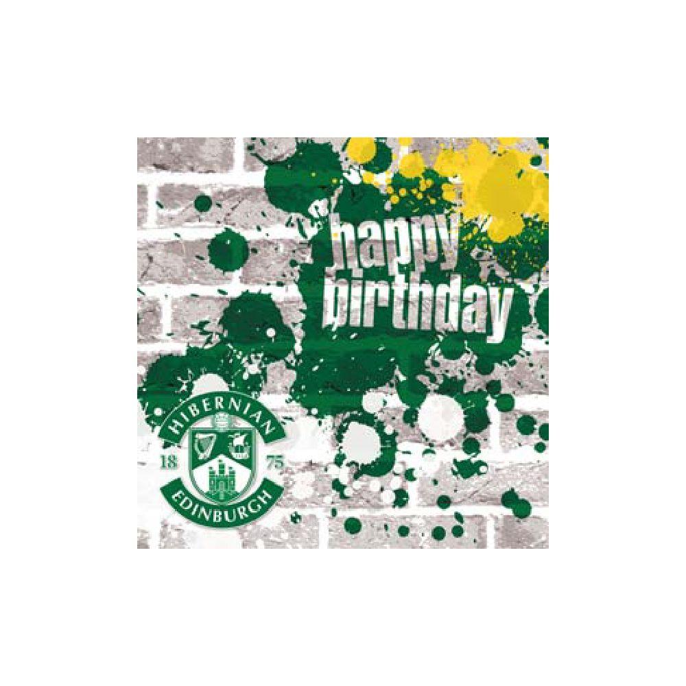 GRUNGE HAPPY BIRTHDAY CARD