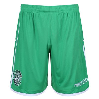 18/19 TRAINING SHORTS JNR GRN image