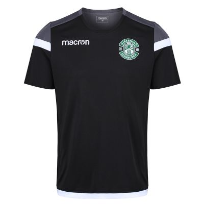 18/19 TRAINING T-SHIRT BLK JNR image