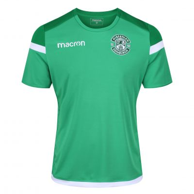 18/19 TRAINING T-SHIRT GRN JNR image