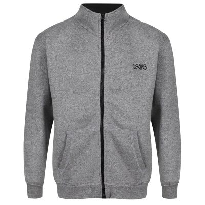 1875 FULL ZIP SWEAT SNR (GREY) image