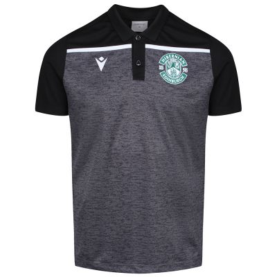 19/20 TRAINING POLO SNR BLK image