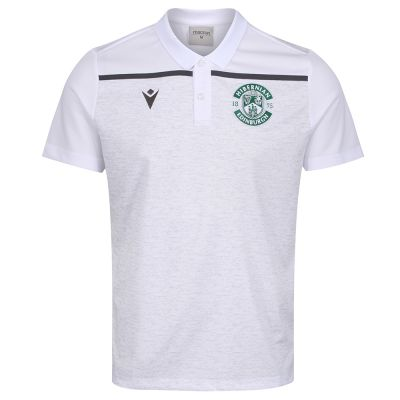 19/20 TRAINING POLO SNR WHT image
