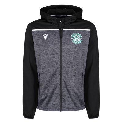19/20 TRAINING FULL-ZIP HOODY JNR BLK image