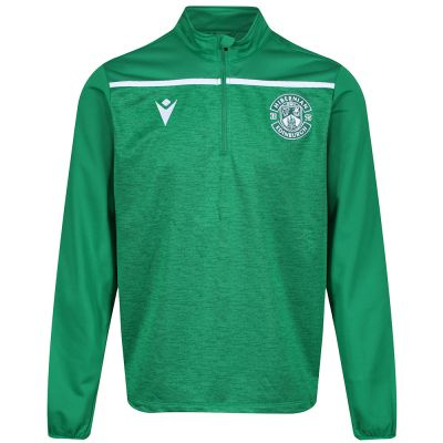 19/20 TRAINING TOP 1/4 ZIP JNR GRN image