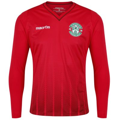 2017-18 3RD GOALKEEPER JERSEY RED JNR image
