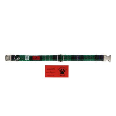 BOWZOS PLAIN DOG COLLAR
