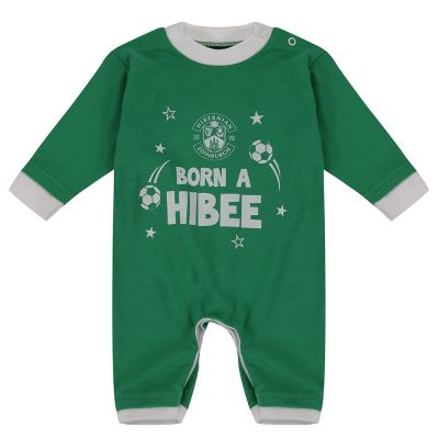 HIBEE SLEEPSUIT GREEN
