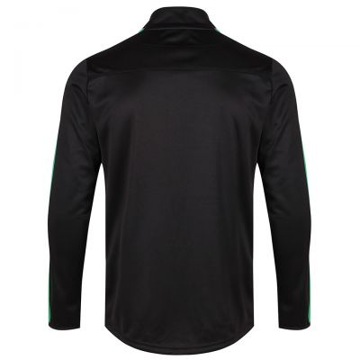 TALENT 1/4 ZIP SWEAT BLK/GRN SNR