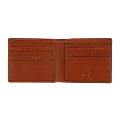 LEATHER WALLET (NAPPA) BROWN