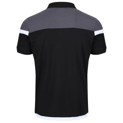 18/19 TRAINING POLO BLK SNR