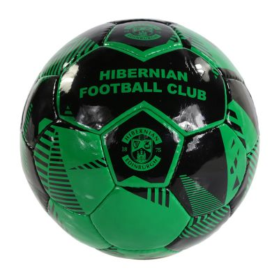 SIZE 5 FOOTBALL (BLACK/GRN)