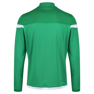 ZIP NECK TRAINING TOP GRN SNR