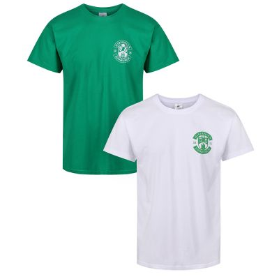 TWIN PACK CREST T-SHIRTS SNR