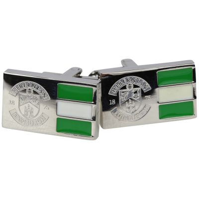 CREST COLOUR CUFFLINKS