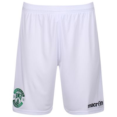 2017-18 AWAY GOALKEEPER SHORT WHITE JNR image
