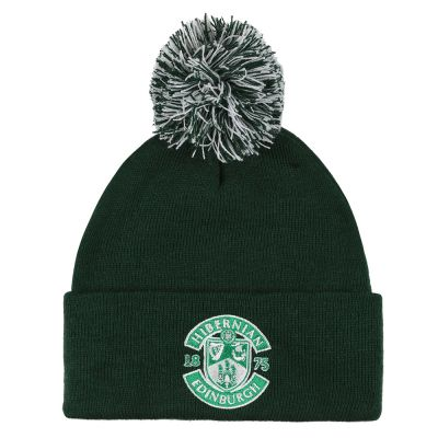 BOTTLE EMB CREST BOBBLE HAT image