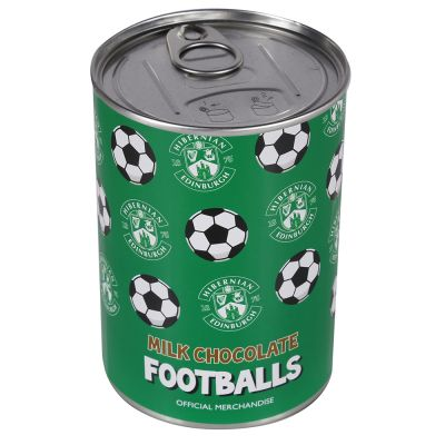 CHOCOLATE FOOTBALLS TIN image