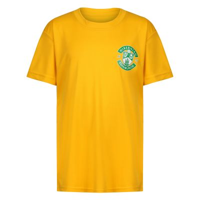 COOL  SPORT T-SHIRT YELLOW JNR image