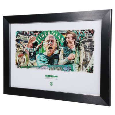 CUP FINAL FRAMED PRINT - SMALL (15