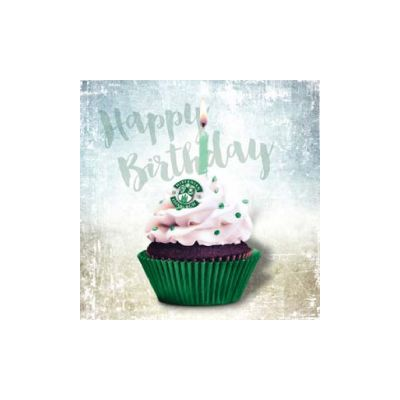 CUPCAKE HAPPY BIRTHDAY CARD image