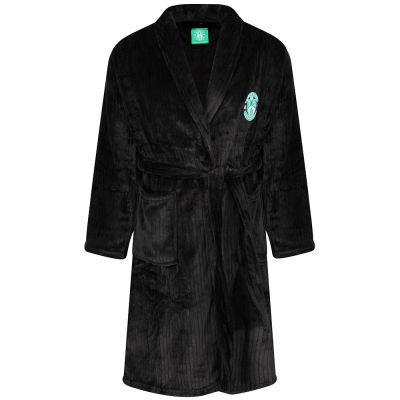 DRESSING GOWN BLK JNR image