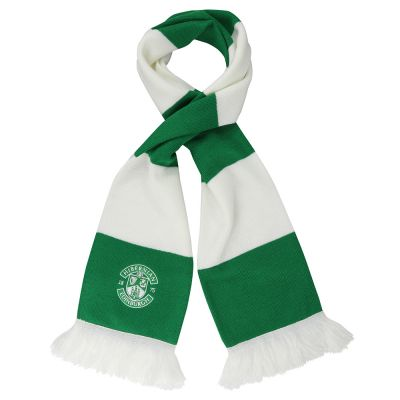 EMBROIDERED CREST BAR SCARF image