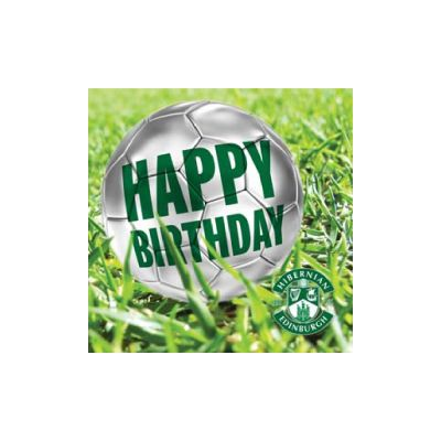 FOOTBALL HAPPY BIRTHDAY CARD image