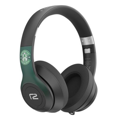 HFC READY2MUSIC HEADPHONES GRN/BLK image