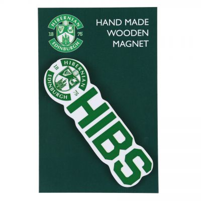 HIBS WOODEN FRIDGE MAGNET image