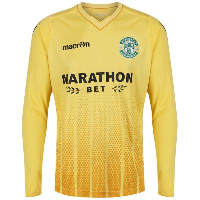2017-18 HOME GOALKEEPER SHIRT YELLOW SNR image