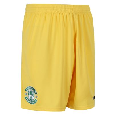 2017-18 HOME GOALKEEPER SHORT YELLOW JNR image
