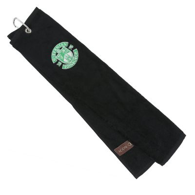 ICON GOLF TOWEL BLK image