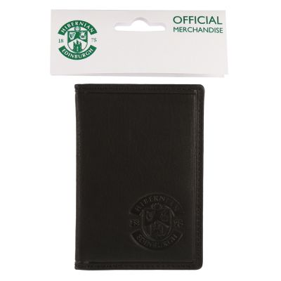 LEATHER SEASON TICKET HOLDER BLK image