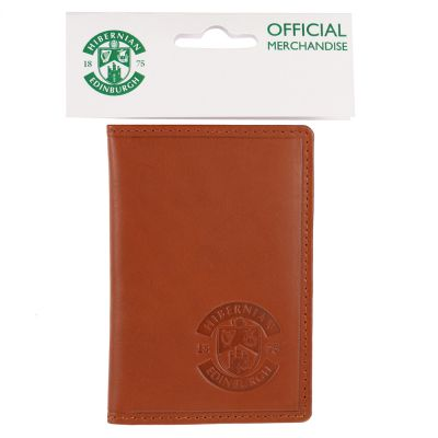 LEATHER SEASON TICKET HOLDER BROWN image
