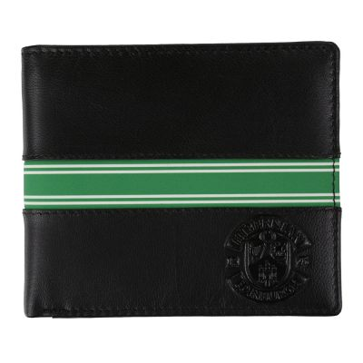 LEATHER WALLET (GREEN STRIPE) image