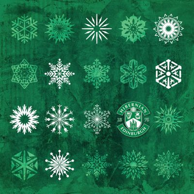 MERRY CHRISTMAS SNOWFLAKES image