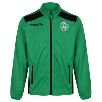 NIXI FULL ZIP TRACK TOP GREEN JNR image