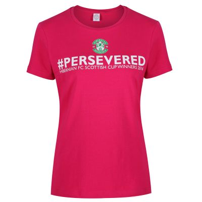 PERSEVERED TEE LDS PINK image