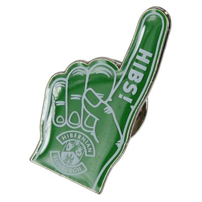 PIN BADGE FOAM HAND image