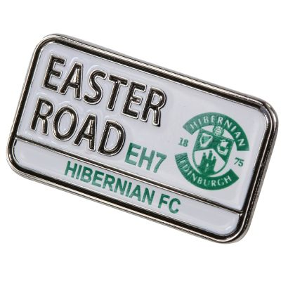 PIN BADGE STREET SIGN image