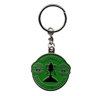 SCOTTISH CUP KEYRING COLOUR image