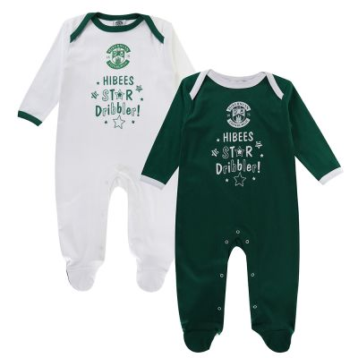 STAR DRIBBLER TWIN PK SLEEPSUIT image