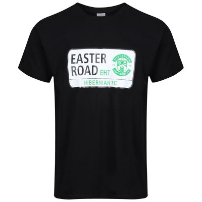 STREET SIGN T-SHIRT BLK SNR image