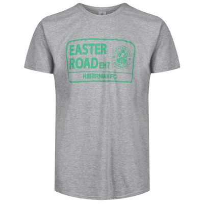STREET SIGN T-SHIRT GREY SNR image